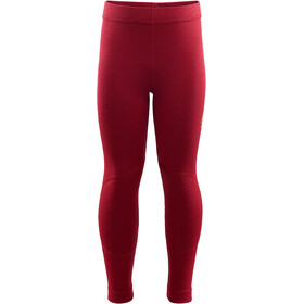 Aclima WarmWool Longs Kids chili pepper
